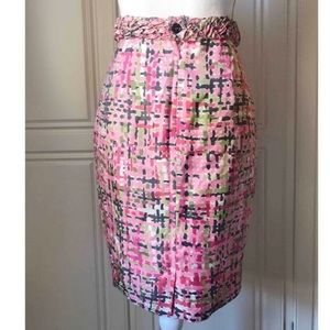 Yves Saint Laurent skirt in 100% silk